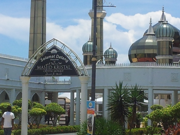 Masjid Kristal - Entrance