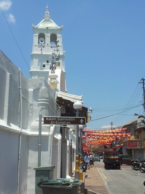 The Kampung Kling Mosque, Jonker Walk