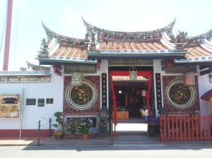 A Chinese temple at Jonker Street (@ all rights reserved)