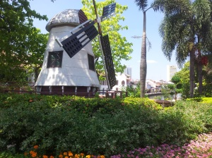 The WIndmill of Melaka. Remnants of the Dutch? (@ all rights reserved)
