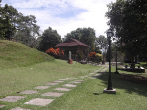 The Grounds of the Johor Lama Historical Complex