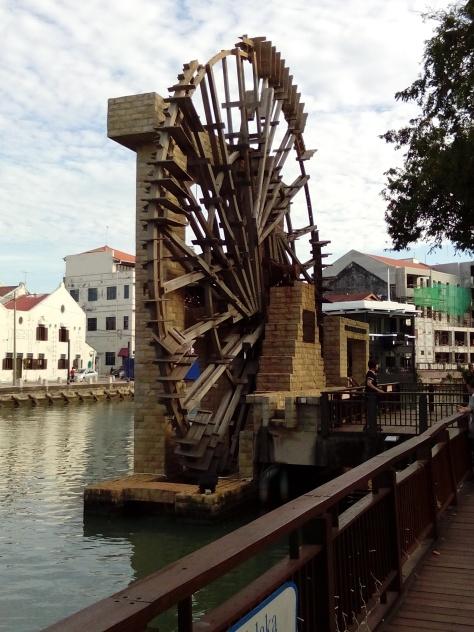 The Waterwheel of Melaka