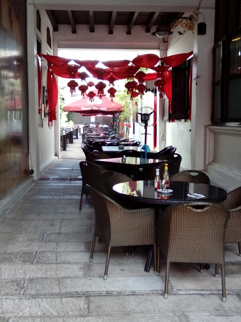 Dining Place in Alley