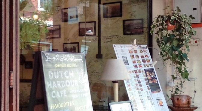 The Dutch Harbour Café & The Monster Burger Wall of Fame