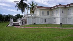 The royal residence of Sultan Alaeddin, Istana Bandar, now in the process of being rehabilitated as part of the efforts to preserve and showcase the rich history of the state of Selangor. (@ all rights reserved)