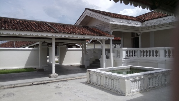 The Courtyard of Istana Bandar