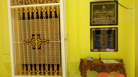 The Royal Tomb of Sultan Abdul Samad