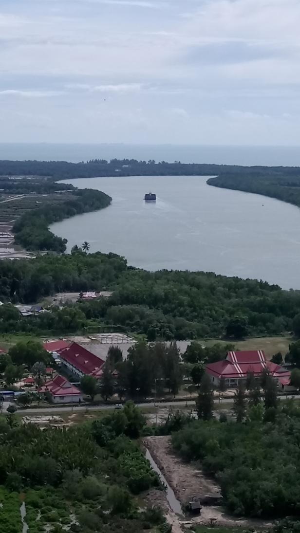View from Bukit Jugra