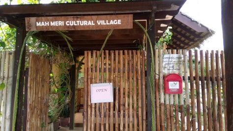 Welcome to the Mah Meri Cultural Village.