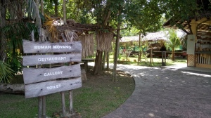 The grounds of the Mah Meri Cultural Village. The Village is well looked after. (@ all rights reserved)
