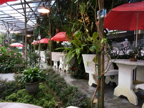 The Barracks - Garden Dining in Tanah Rata (@ all rights reserved)