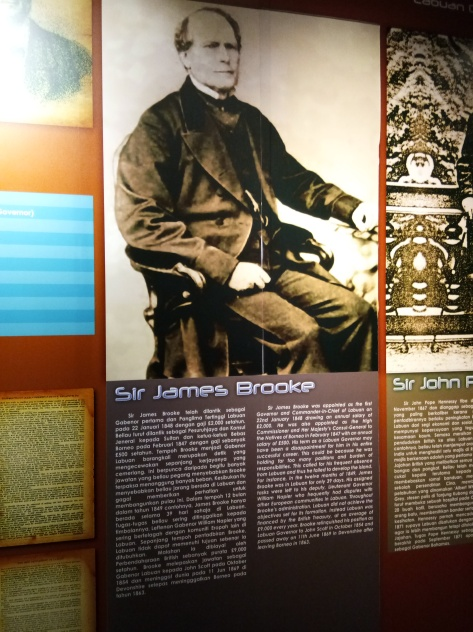 Exhibit - Labuan Museum (Sir James Brooke)