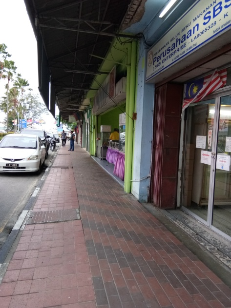The Streets of Old Labuan