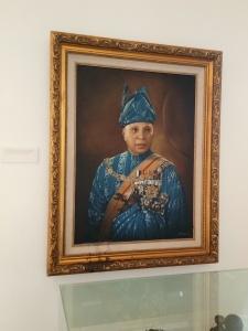 Sultan Abu Bakar of Pahang - A Portrait