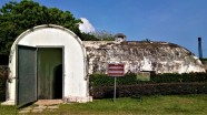 The powder magazine, view from the outside. (photo credit : Shah Said ; @ all rights reserved)