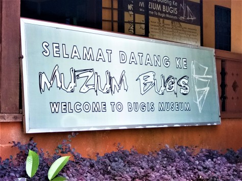 Signboard - The 'Muzium Bugis' of Pontian