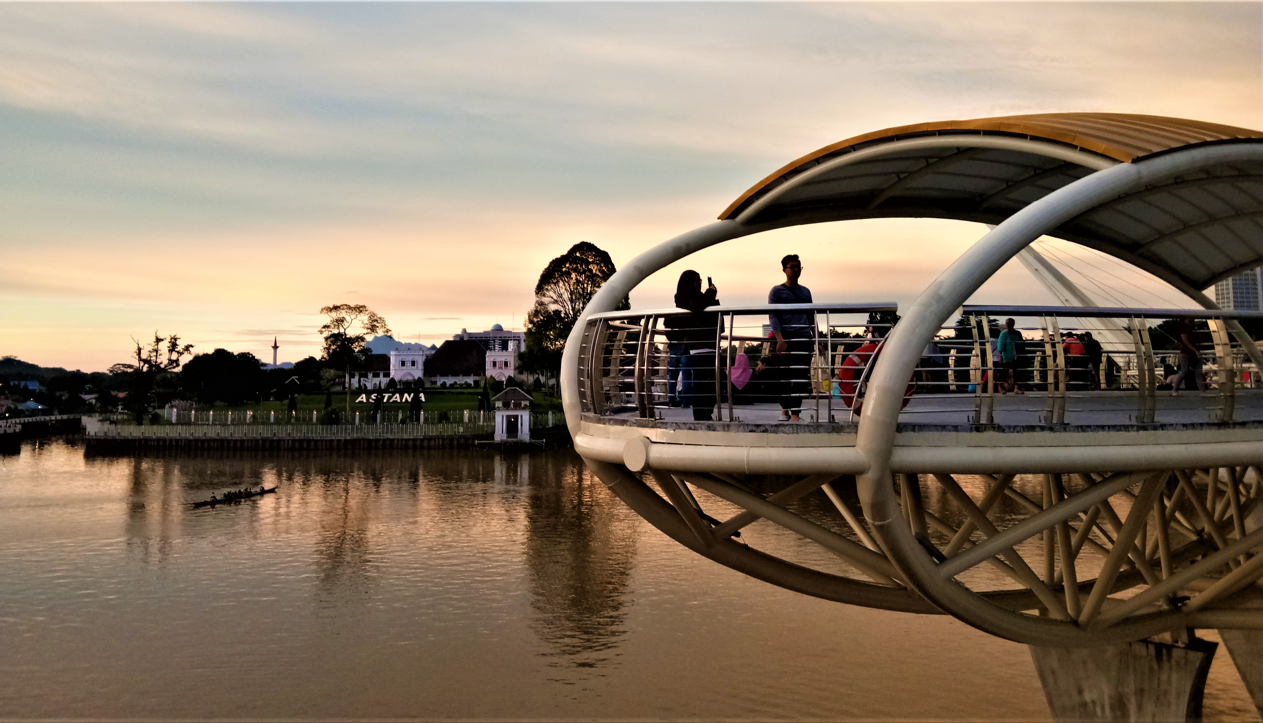 An Evening In Kuching